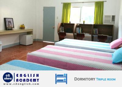 Dormitory Triple room